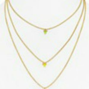 Rebecca Minkoff Toerd spear necklace